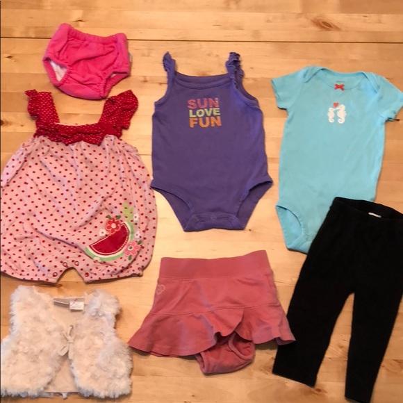 8bec211a8 Ralph Lauren Matching Sets | Big Bundle Of 69 Months Baby Girl ...